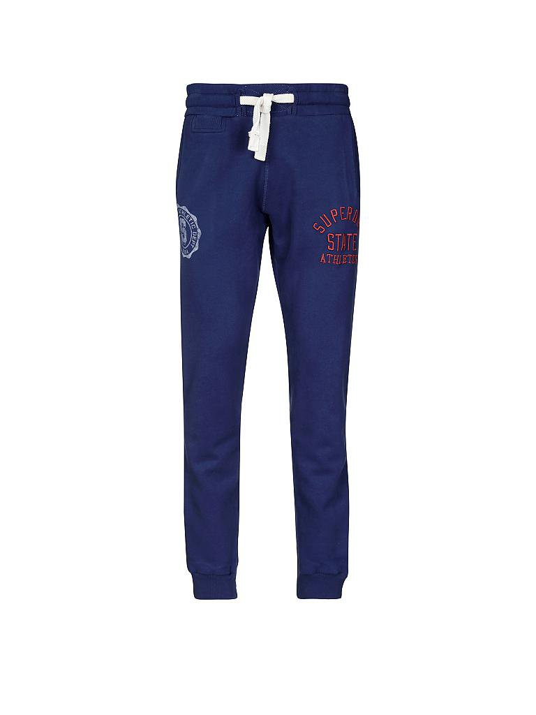 SUPERDRY | Jogginghose  | blau