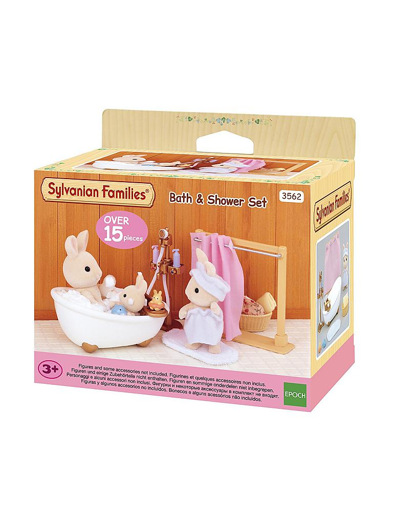SYLVANIAN FAMILIES | Bad- und Dusch-Set 3562 | transparent