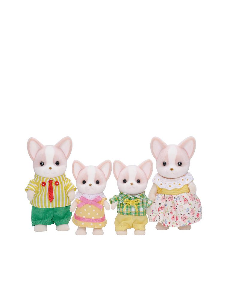 SYLVANIAN FAMILIES | Chihuahua Familie Wuffel 3149 | transparent