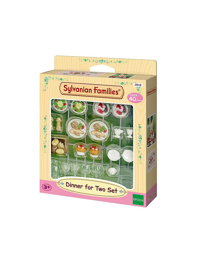 SYLVANIAN FAMILIES | Dinner for Two-Set 2818 | transparent