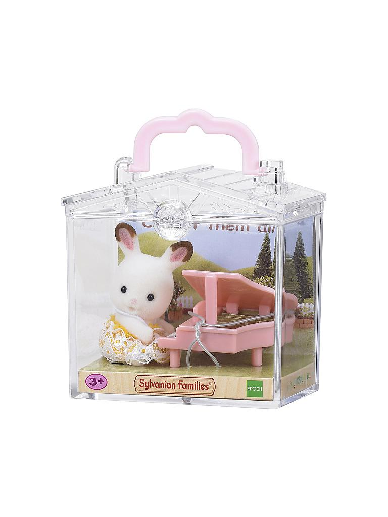 SYLVANIAN FAMILIES | Minibox - Hase am Flügel 5202 | transparent