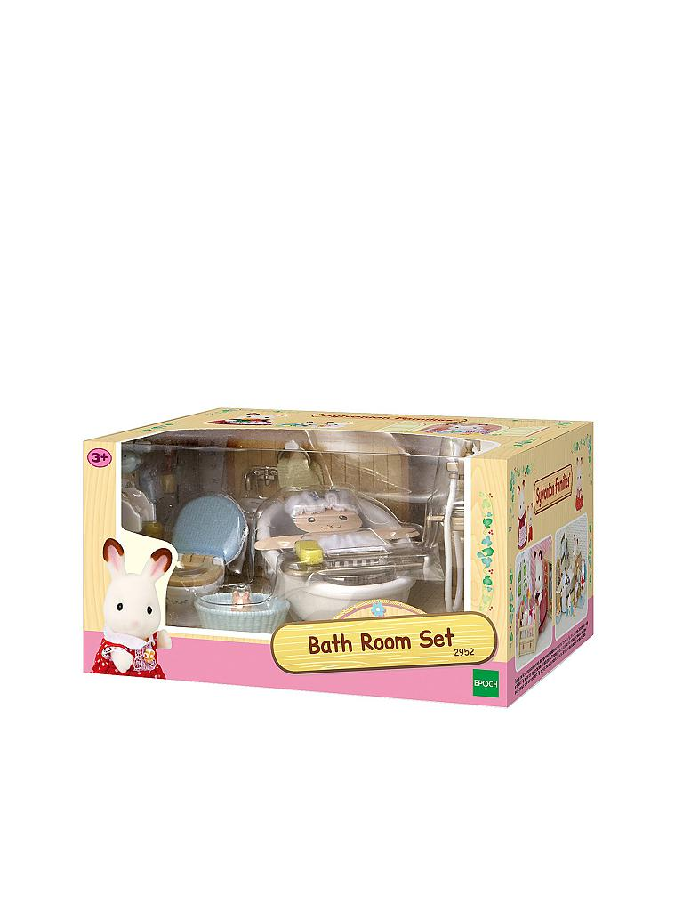 SYLVANIAN FAMILY | Badezimmer Set | transparent