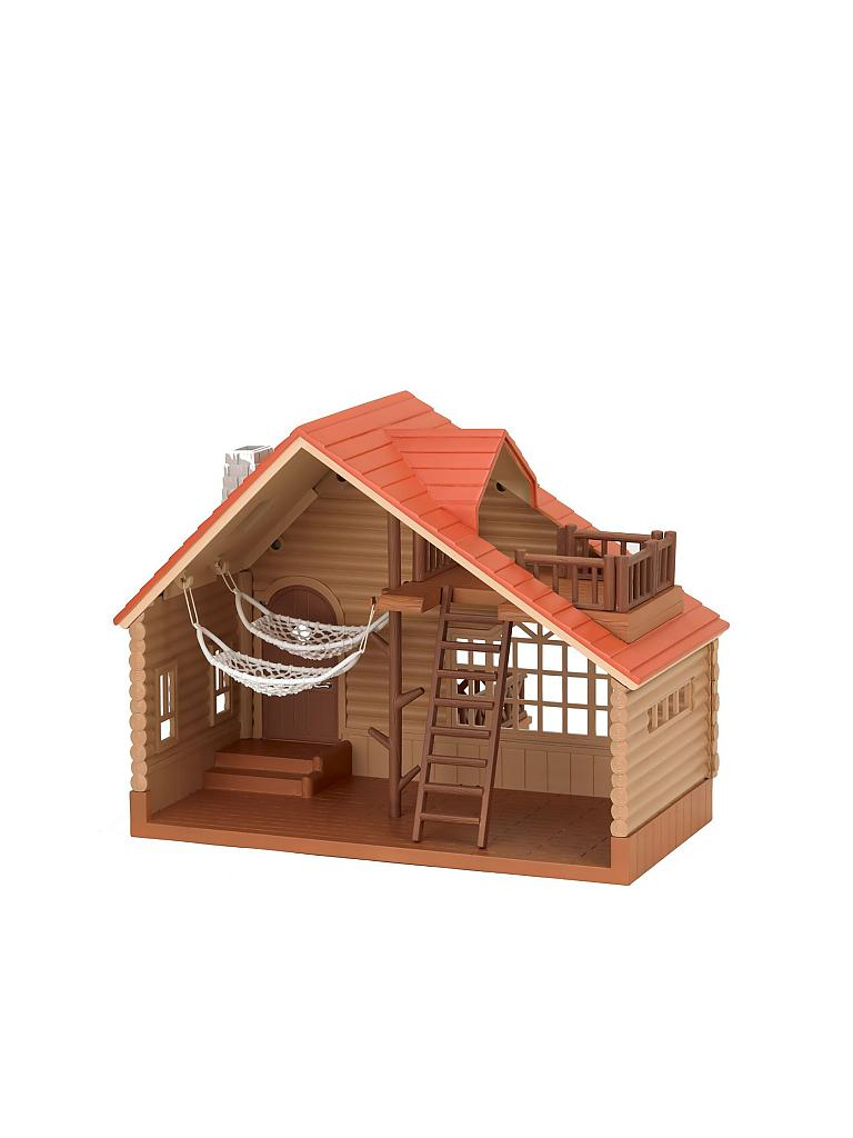 SYLVANIAN FAMILY | Blockhütte 2881 | transparent