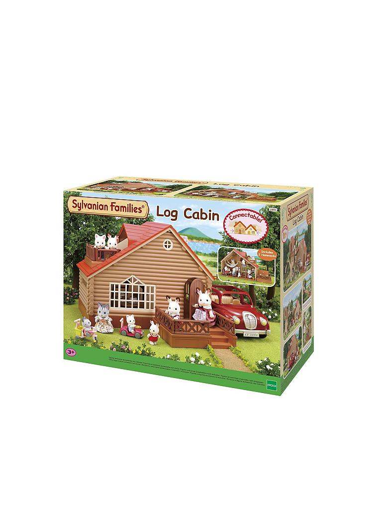 SYLVANIAN FAMILY | Blockhütte | transparent