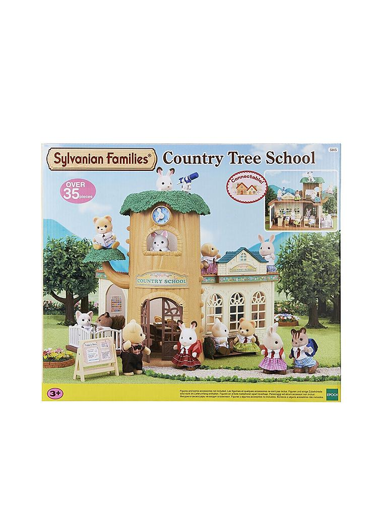 SYLVANIAN FAMILY | Eichenhain Schule-Set 5105 | transparent