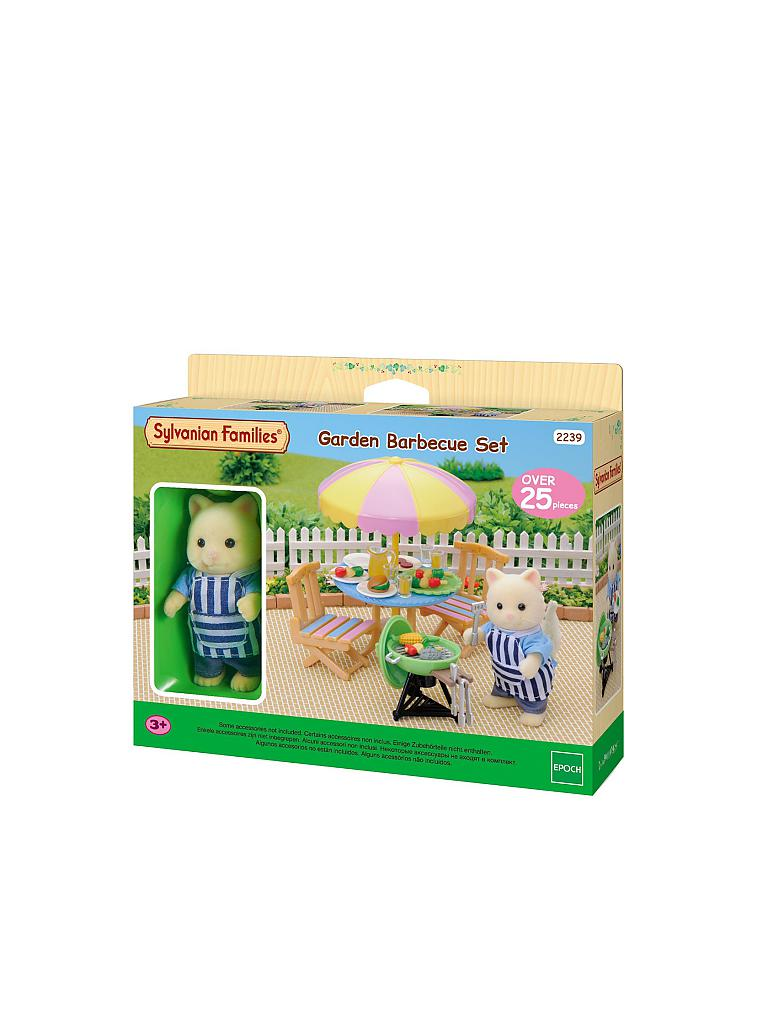 SYLVANIAN FAMILY | Garten-Grill-Set  | transparent