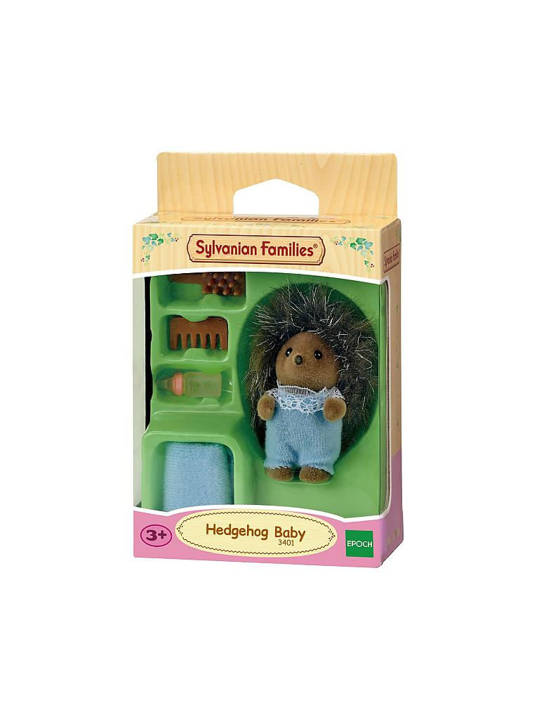 SYLVANIAN FAMILY | Igel Baby 3401 | transparent
