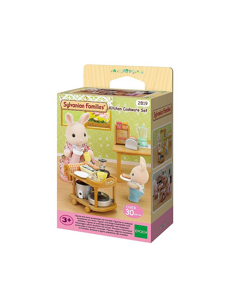 sylvanian family k chen einrichtungs set transparent. Black Bedroom Furniture Sets. Home Design Ideas