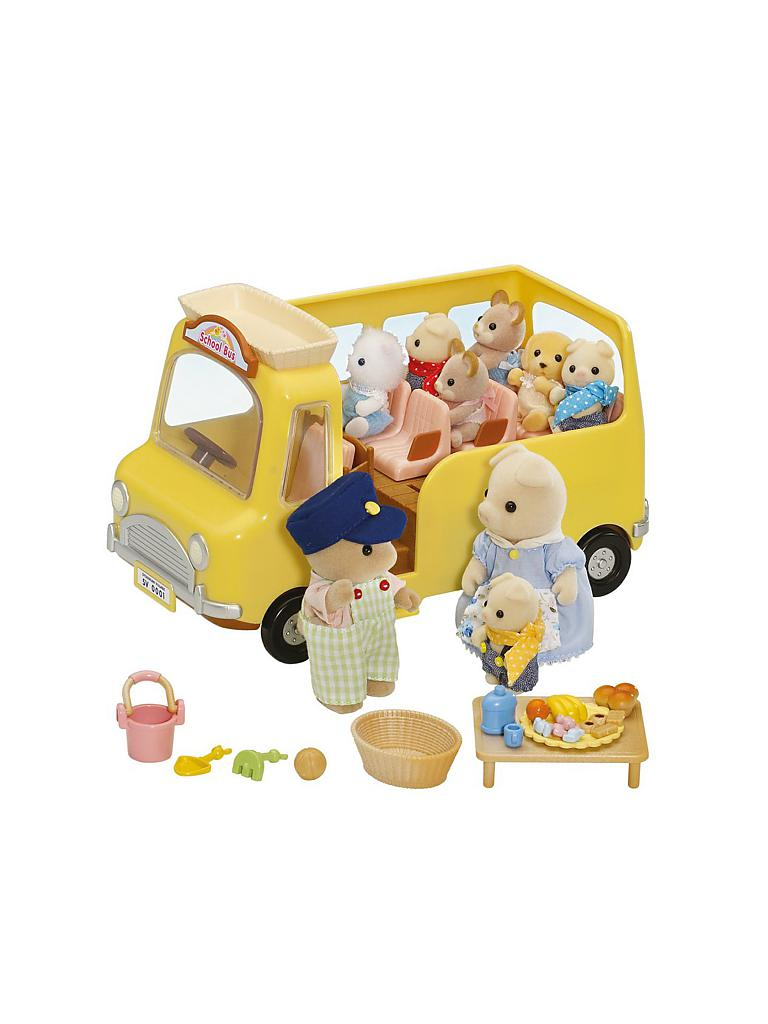 SYLVANIAN FAMILY | Kindergarten Bus | transparent