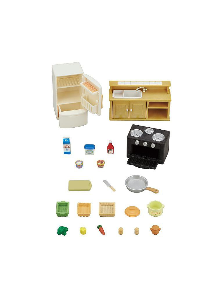 sylvanian family klassisches k chen set transparent. Black Bedroom Furniture Sets. Home Design Ideas