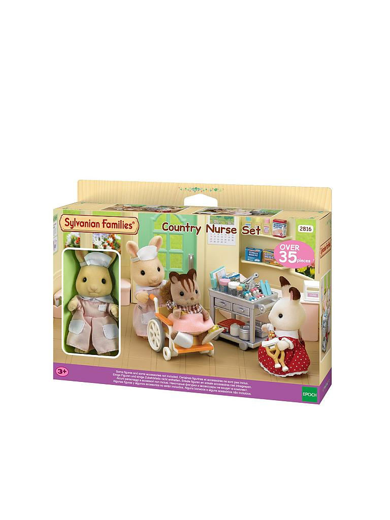 SYLVANIAN FAMILY | Land Krankenschwester Set 2816 | transparent