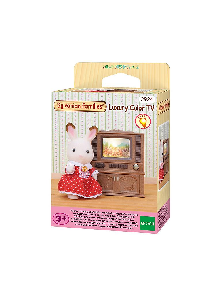 SYLVANIAN FAMILY | Luxus-Farbfernseher 2924 | transparent