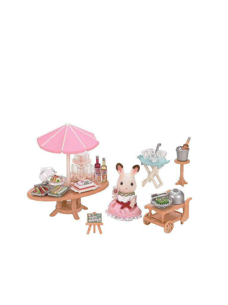 SYLVANIAN FAMILY | Strandparty 5207 | transparent