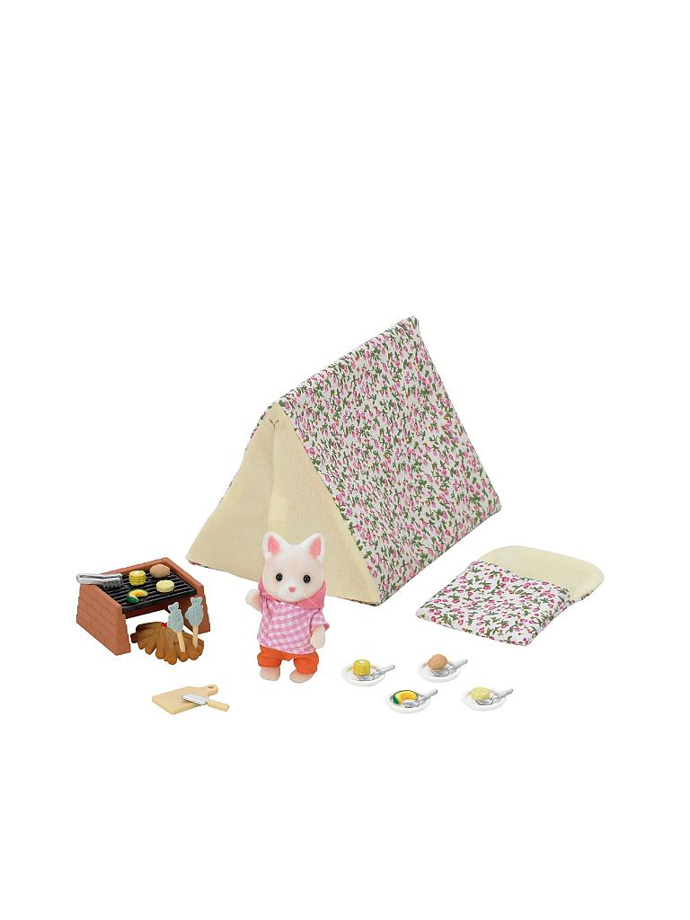 SYLVANIAN FAMILY | Zelten am Strand | transparent
