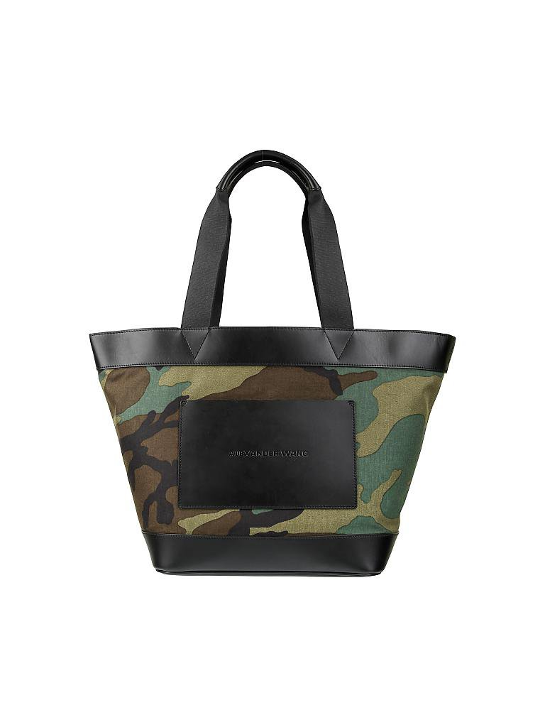 t by alexander wang tasche shopper olive. Black Bedroom Furniture Sets. Home Design Ideas
