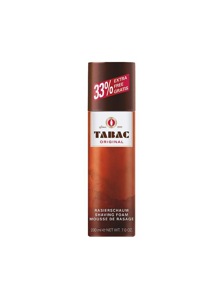 TABAC | Original Shaving Foam 200ml | transparent