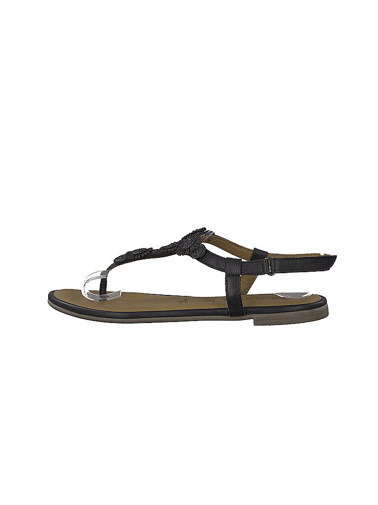 10a453218df42c TAMARIS Sandale mit Zehentrenner schwarz