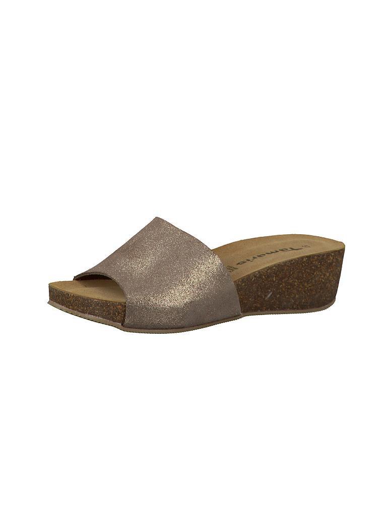 tamaris schuhe pantoffel beige 36. Black Bedroom Furniture Sets. Home Design Ideas