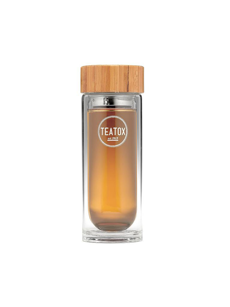 TEATOX | Thermo Go-Bottle | weiß