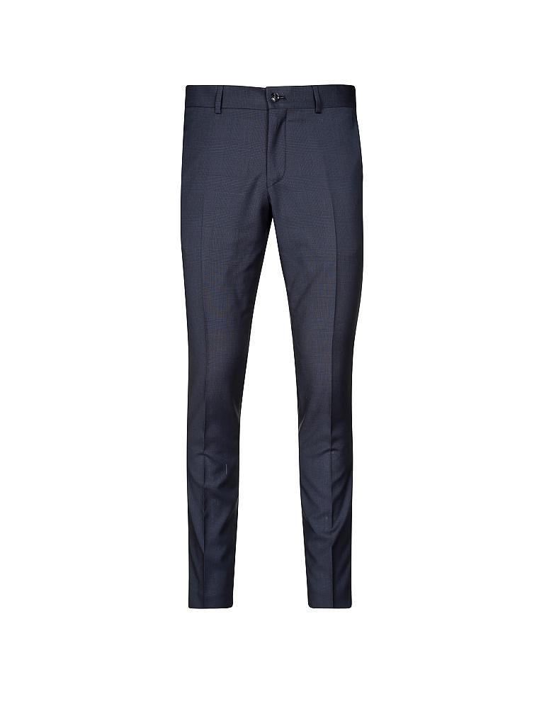 tiger of sweden anzug slim fit jil herris blau 46. Black Bedroom Furniture Sets. Home Design Ideas
