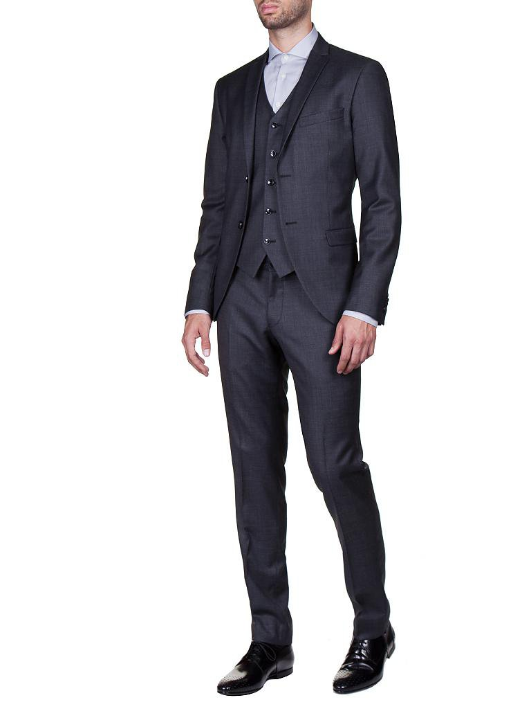 tiger of sweden anzug slim fit jil grau 44