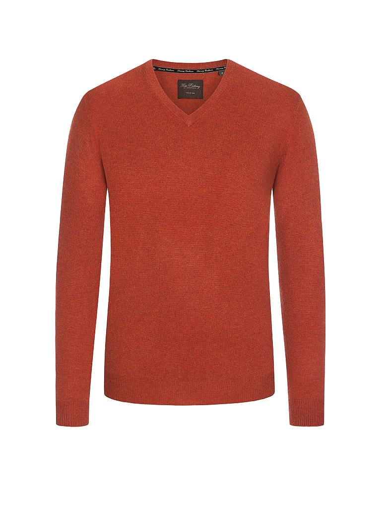 TOM RUSBORG | Kaschmir-Pullover | orange