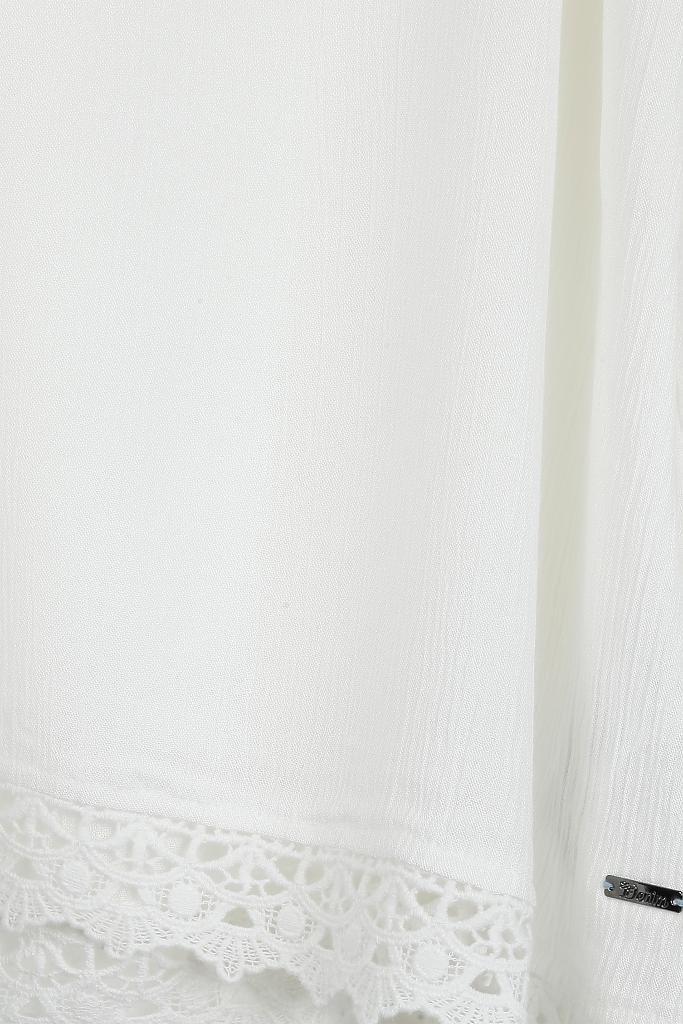 tom tailor denim bluse wei. Black Bedroom Furniture Sets. Home Design Ideas