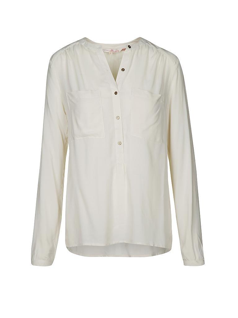 tom tailor denim bluse beige m. Black Bedroom Furniture Sets. Home Design Ideas