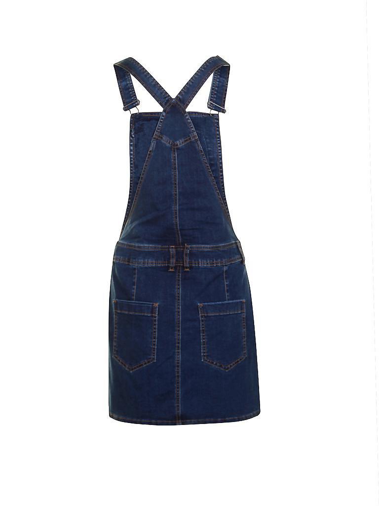 tom tailor denim jeans latzrock blau xs. Black Bedroom Furniture Sets. Home Design Ideas