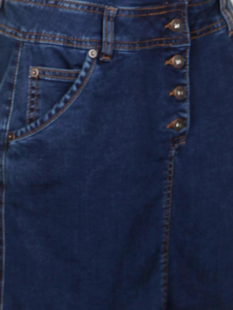 TOM TAILOR DENIM | Jeans-Latzrock | blau
