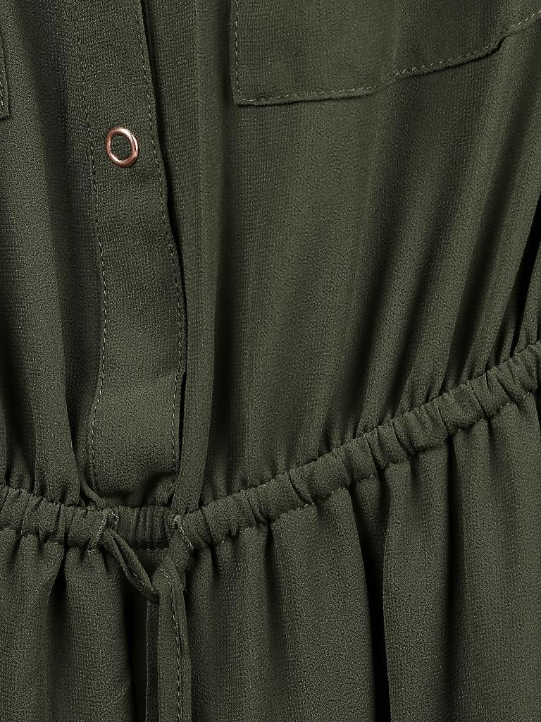tom tailor denim kleid olive l. Black Bedroom Furniture Sets. Home Design Ideas