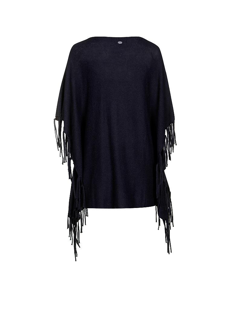 TOM TAILOR DENIM | Poncho  | blau