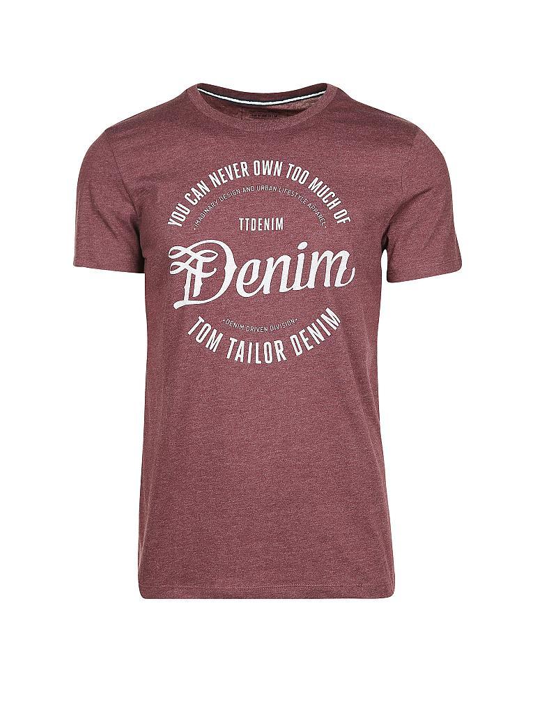 aae06fa7583b TOM TAILOR DENIM T-Shirt blau   M