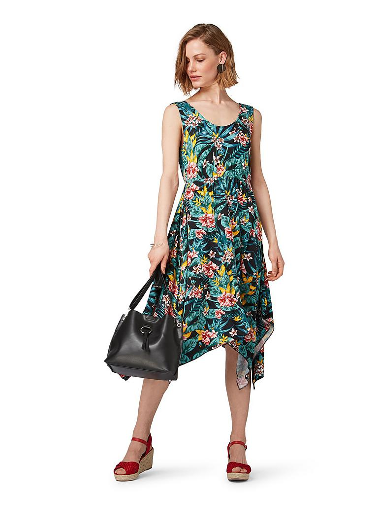 TOM TAILOR Kleid schwarz   38