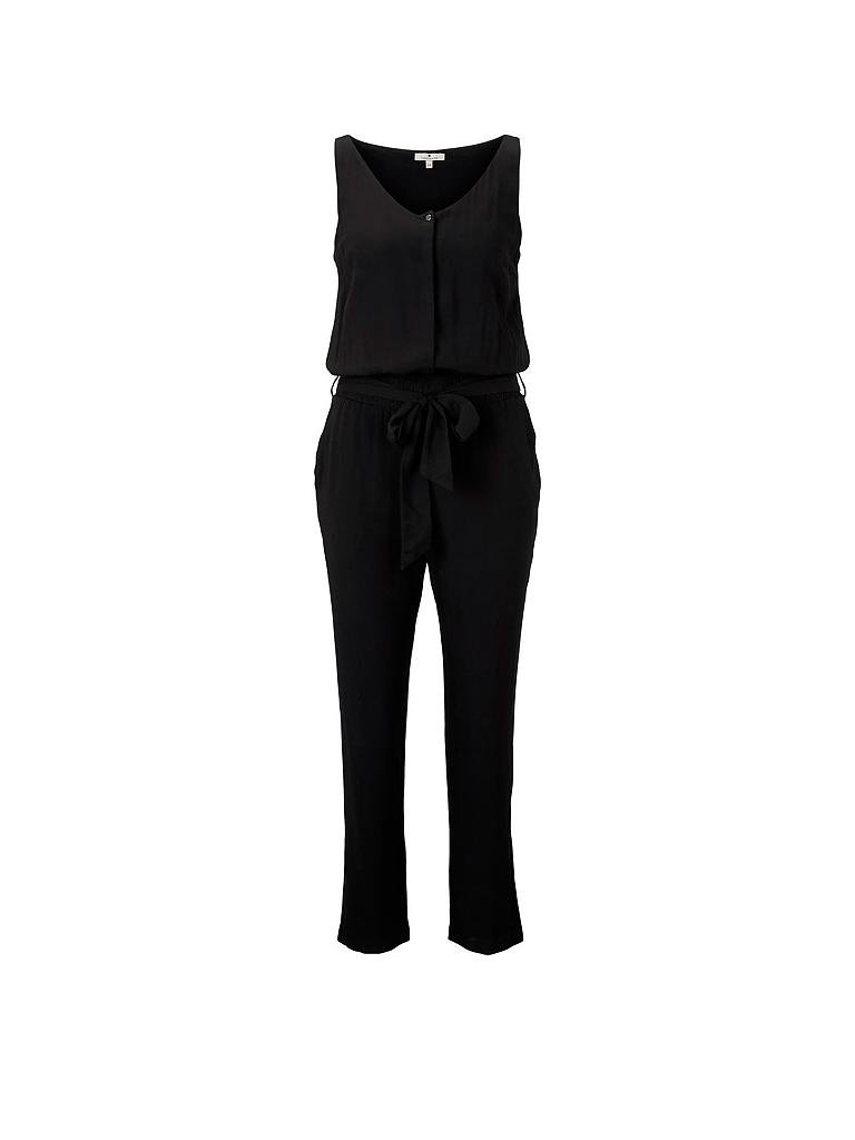 TOM TAILOR | Overall - Jumpsuit | schwarz