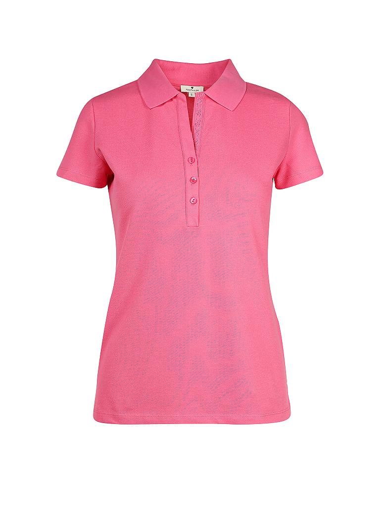 TOM TAILOR | Poloshirt | pink