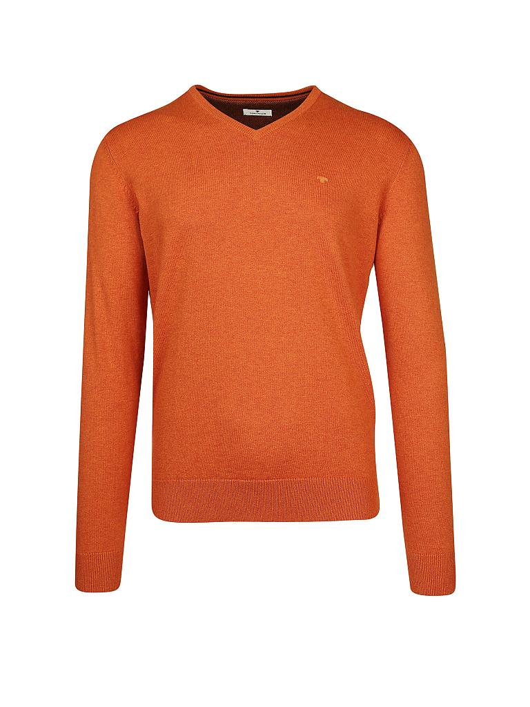TOM TAILOR | Pullover | orange
