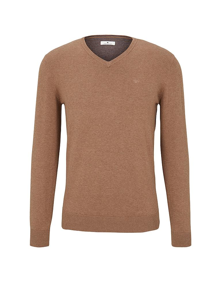 TOM TAILOR | Pullover | braun