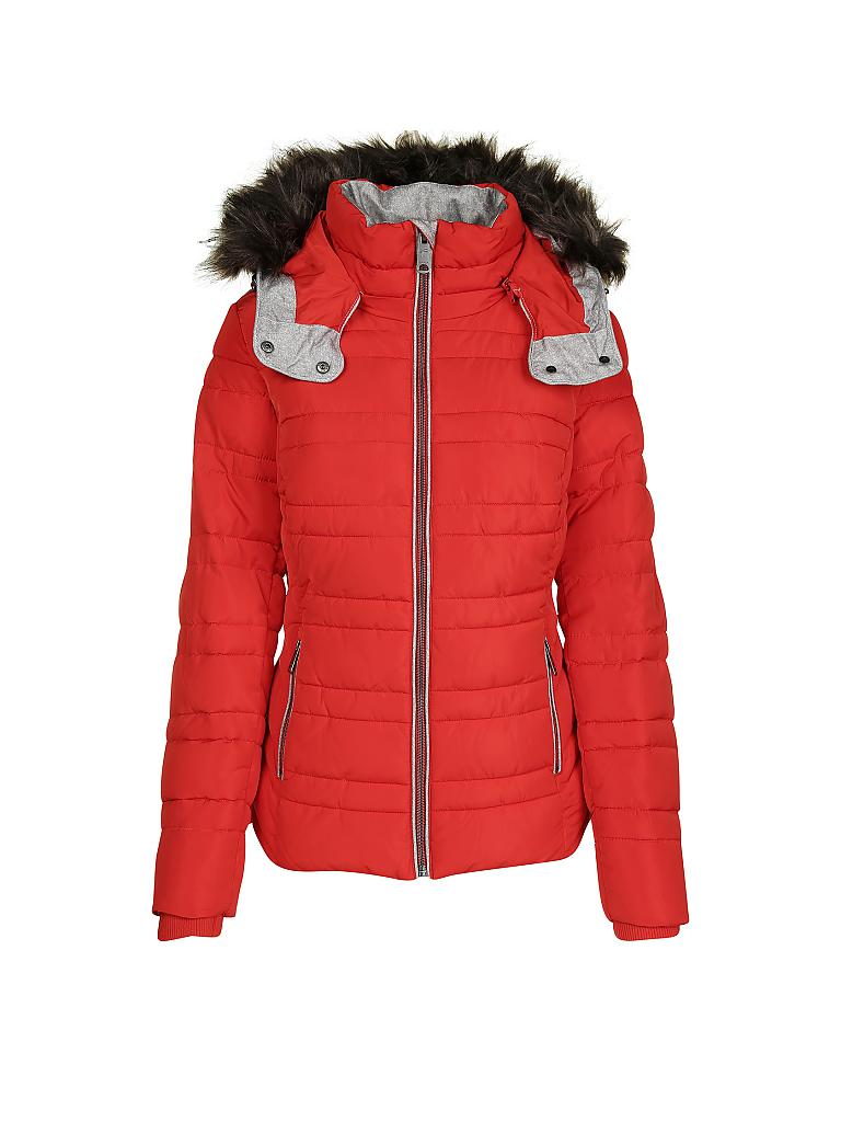 TOM TAILOR Steppjacke rot   S c698d0a1e1