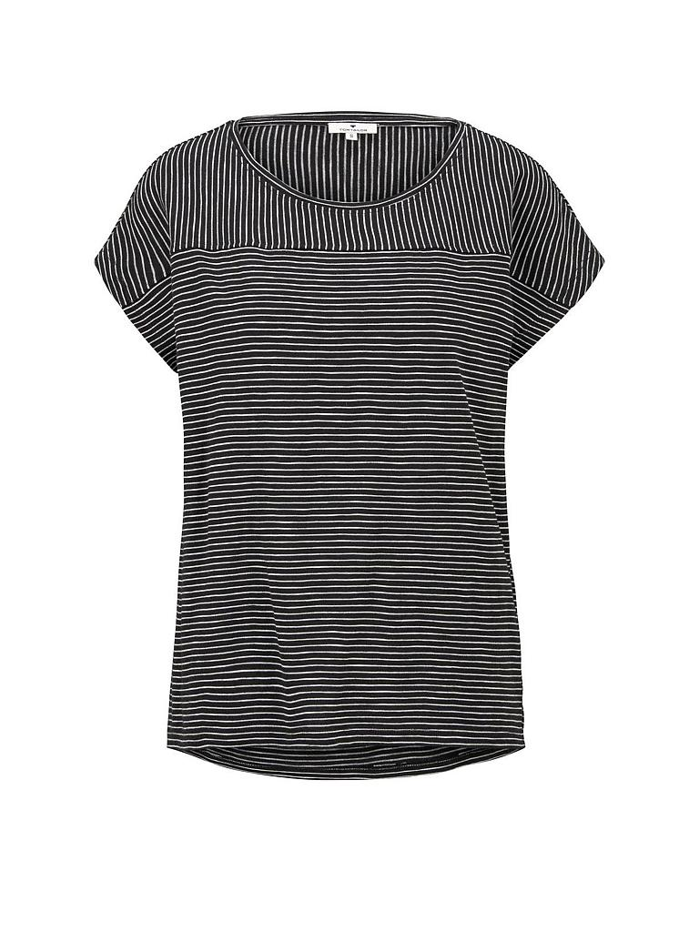 TOM TAILOR | T-Shirt | schwarz