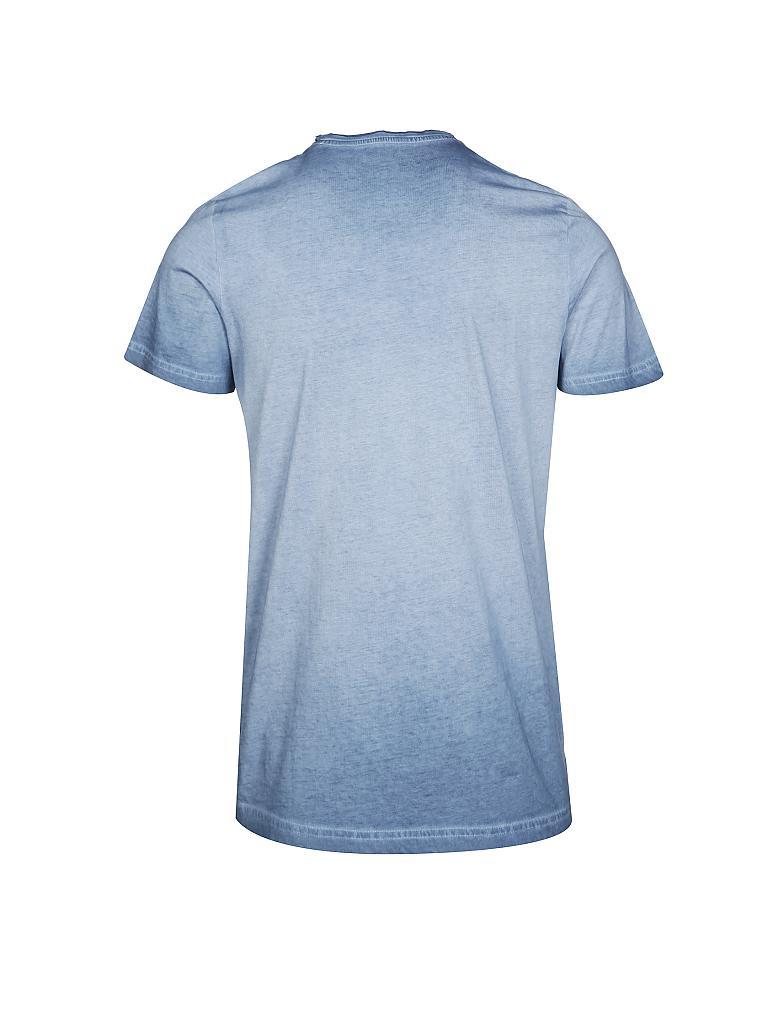 tom tailor t shirt blau s. Black Bedroom Furniture Sets. Home Design Ideas