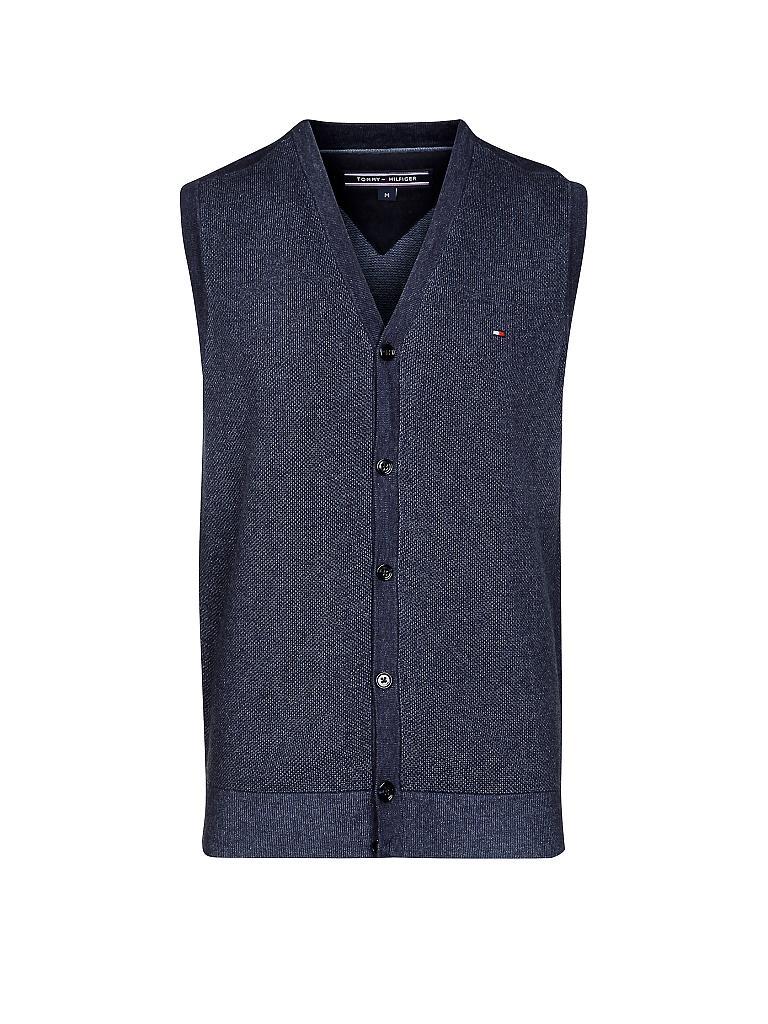 tommy hilfiger gilet vest blau s. Black Bedroom Furniture Sets. Home Design Ideas