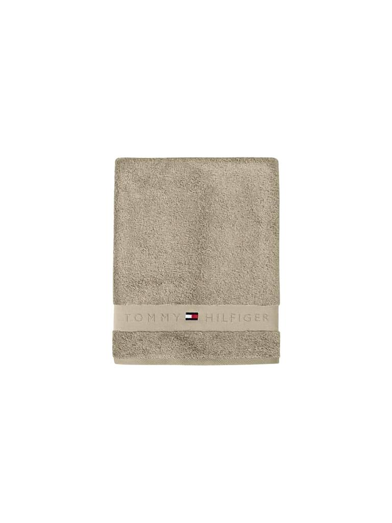TOMMY HILFIGER | Handtuch TH Frottee Uni Serie 50x100cm | beige