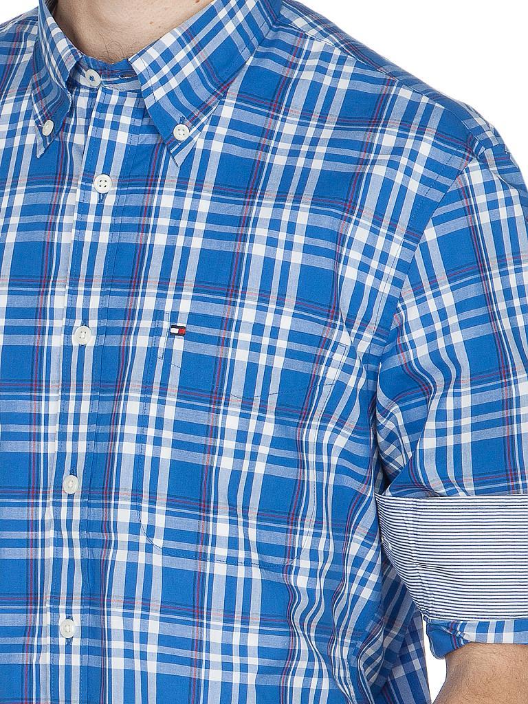 TOMMY HILFIGER Hemd Custom-Fit