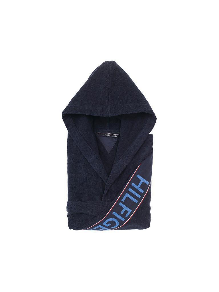 96ca507331b7f6 TOMMY HILFIGER | Hilfiger Iconic Bademantel (Navy) | blau