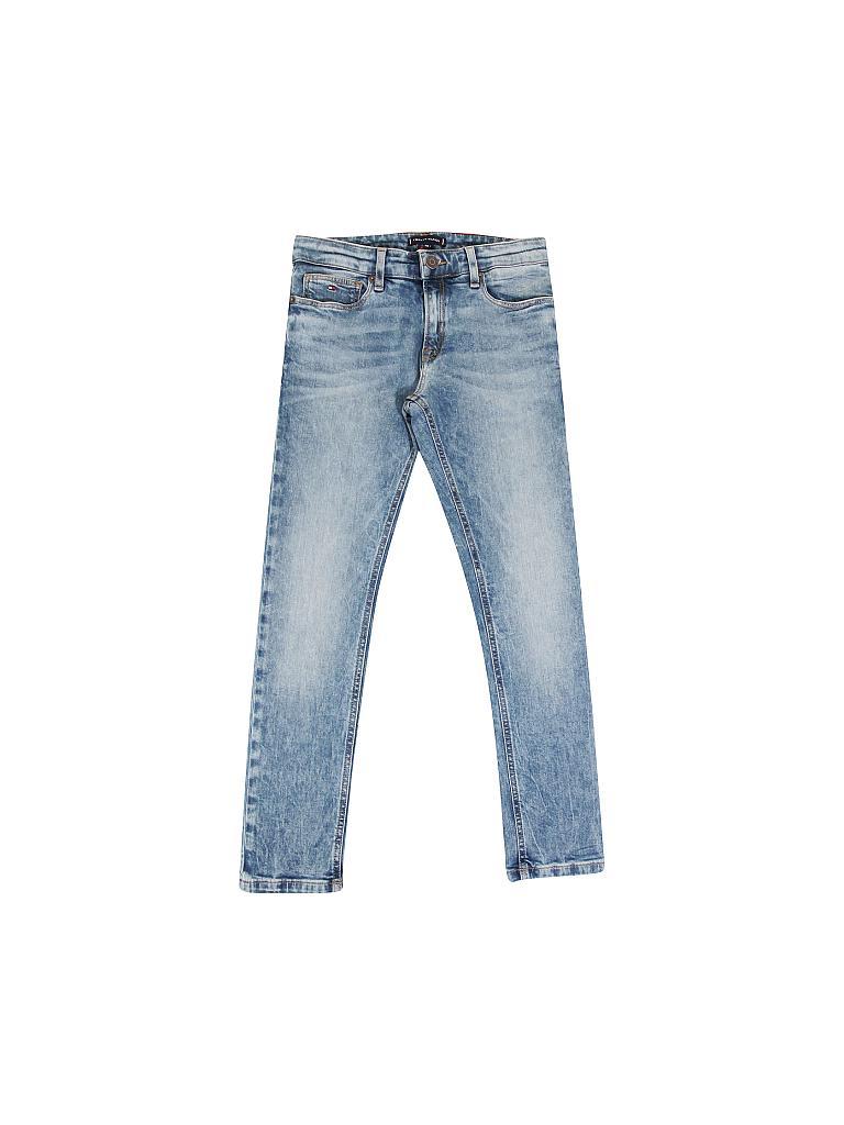 Online-Einzelhändler niedriger Preis Designermode Jungen-Jeans Slim-Fit