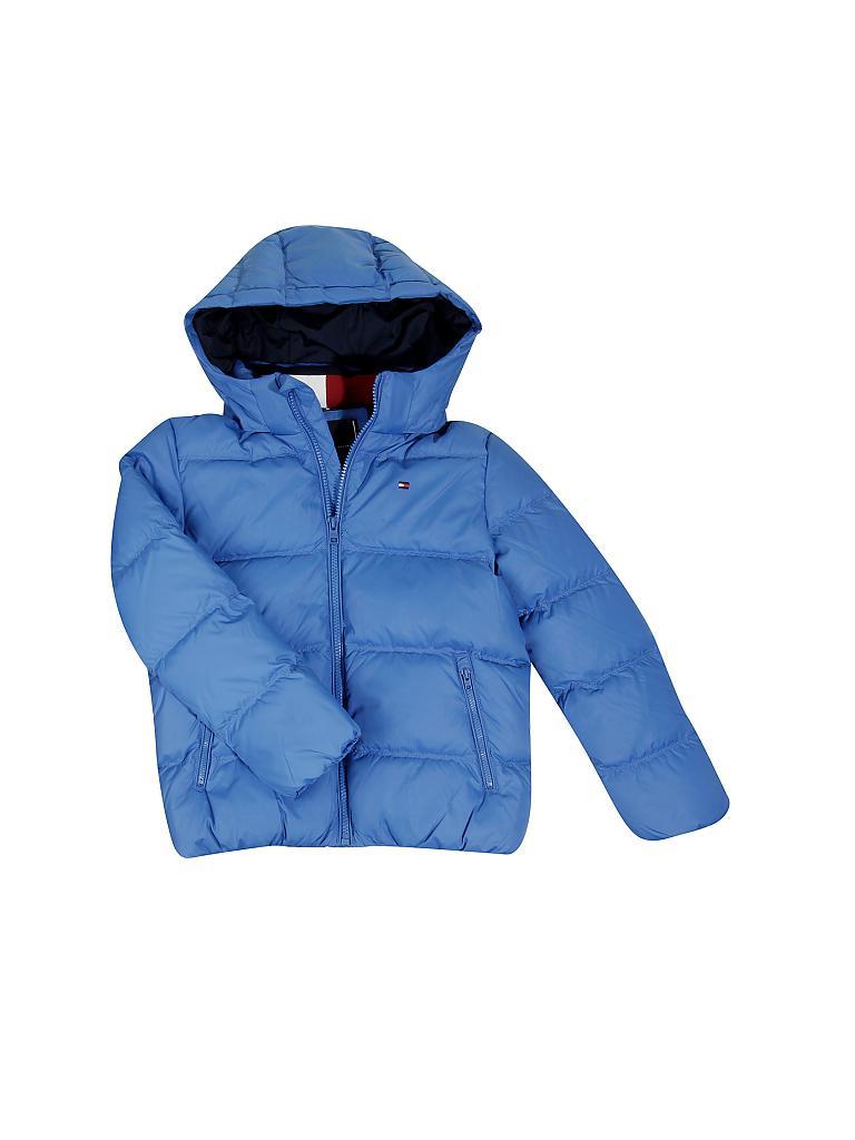 TOMMY HILFIGER Kinder-Daunenjacke blau   128 d48f762d95