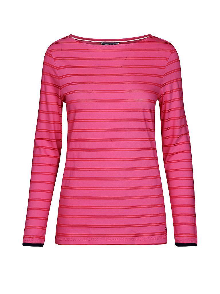 tommy hilfiger langarmshirt pink xs. Black Bedroom Furniture Sets. Home Design Ideas