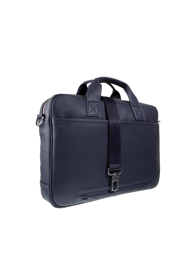 tommy hilfiger laptop tasche essential blau. Black Bedroom Furniture Sets. Home Design Ideas
