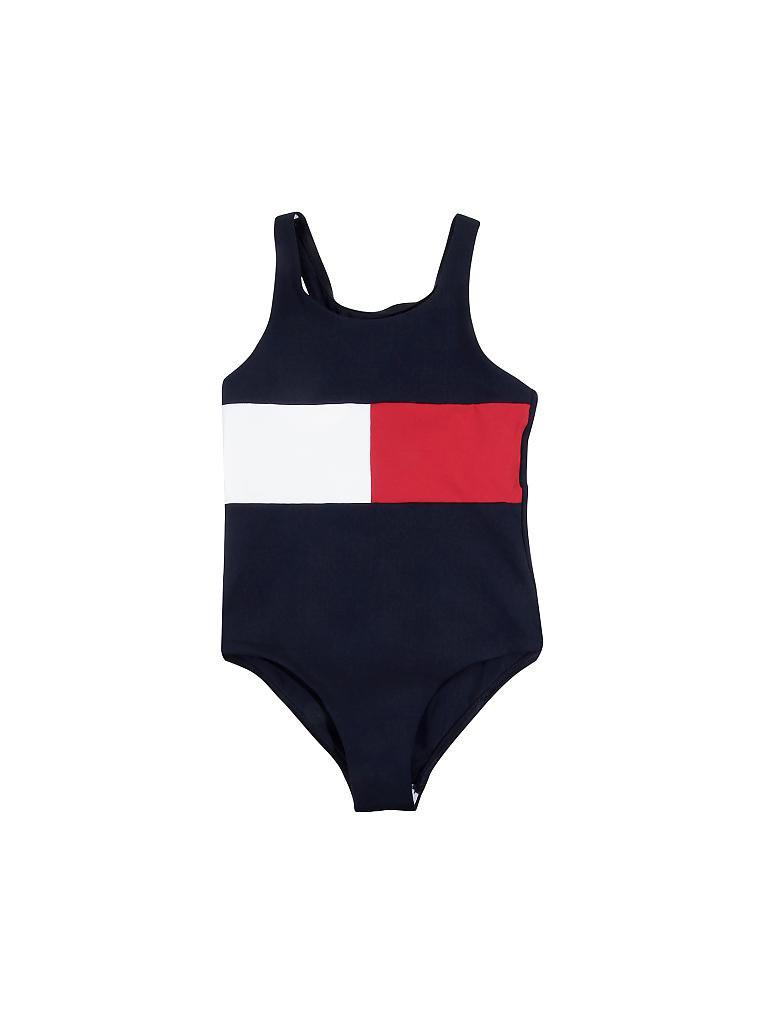 Tommy Hilfiger M/ädchen Swimsuit Badeanzug